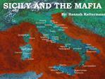 SICILY AND THE MAFIA