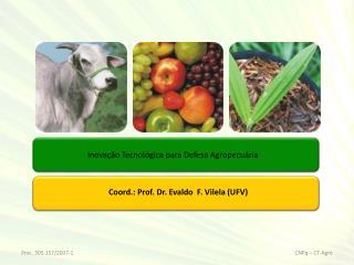 Inovação Tecnológica para Defesa Agropecuária