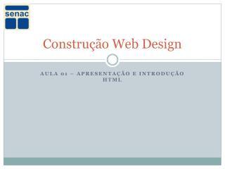 Construção Web Design