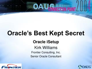 Oracle s Best Kept Secret