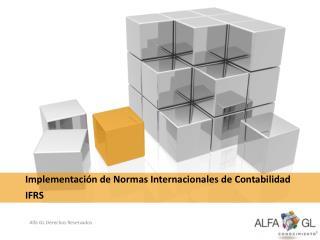 Implementación de Normas Internacionales de Contabilidad IFRS
