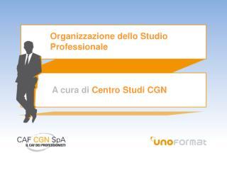 Organizzazione dello Studio Professionale