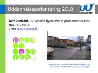 Uddannelsesorientering 2010