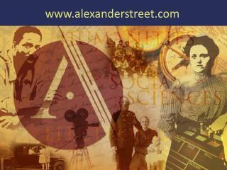 alexanderstreet