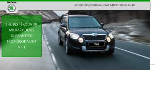 THE BEST MILITARY  SKODA UK  DEALS  ANYWHERE !! FROM SKODA UK'S No.1