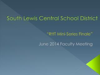 South Lewis Central School District