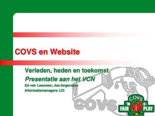 COVS en Website