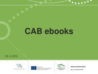 CAB  ebooks