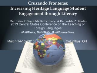 2013  Central States Conference on the Teaching of Foreign Languages