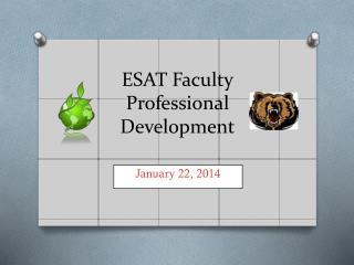 ESAT Faculty Professional Development