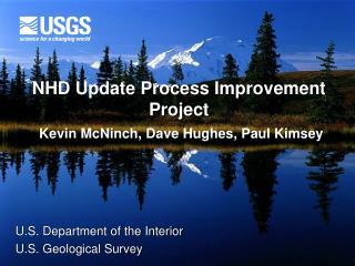 NHD Update Process Improvement Project
