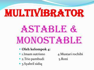 Multivibrator
