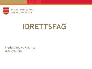 IDRETTSFAG