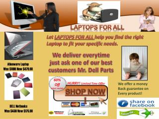 LAPTOPS FOR ALL