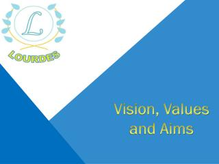 Vision, Values and Aims