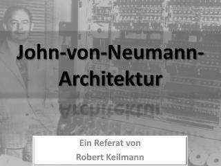 John-von-Neumann-Architektur