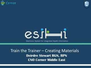 Train the Trainer � Creating Materials