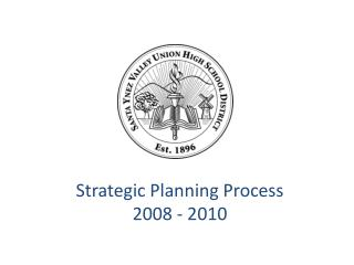 Strategic Planning Process 2008 - 2010