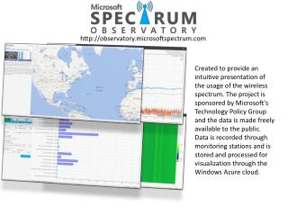 observatory.microsoftspectrum