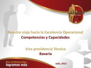 Nuestro viaje hacia la Excelencia Operacional Competencias y Capacidades