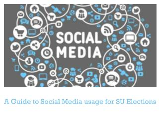 A Guide to Social Media usage for SU Elections