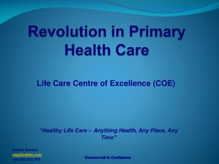 Revolution in Primary Health Care