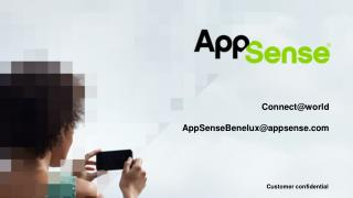 Connect @world AppSenseBenelux@appsense