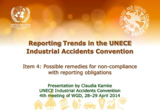 Reporting Trends in the UNECE Industrial Accidents Convention