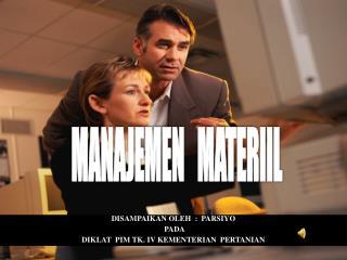 MANAJEMEN   MATERIIL