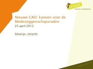 Nieuwe  CAO:  kansen voor  de  Medezeggenschapsraden