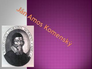 Ján Amos Komenský