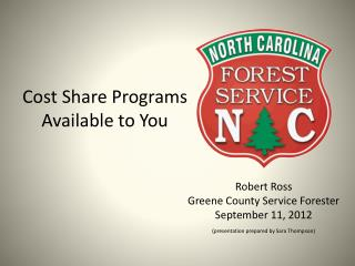 Cost Share Programs Available to You