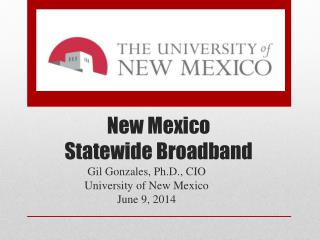 New Mexico  Statewide Broadband