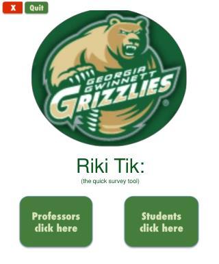 Riki Tik :  (the quick survey tool)