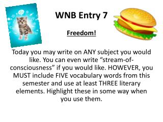 WNB Entry  7
