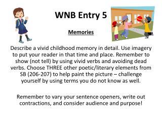WNB Entry 5