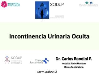 Incontinencia Urinaria Oculta