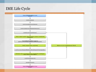 IME Life Cycle