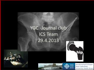 YGC -Journal club ICS Team 29.4.2013
