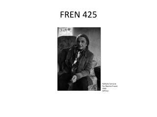 FREN 425