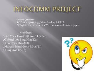 Infocomm  Project