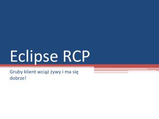 Eclipse RCP