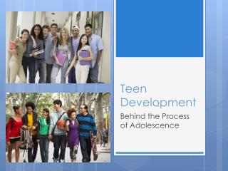 Teen Development
