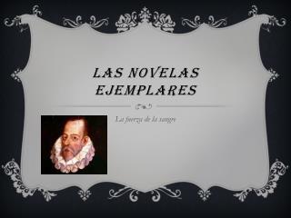 Las novelas ejemplares