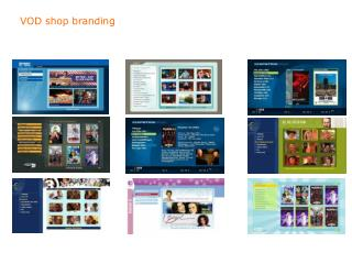 VOD shop branding
