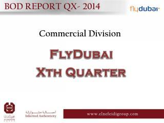 BOD REPORT QX- 2014