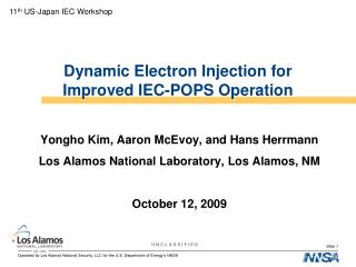 Dynamic Electron Injection for Improved IEC-POPS Operation