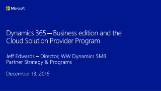 Microsoft Dynamics GP Business Intelligence