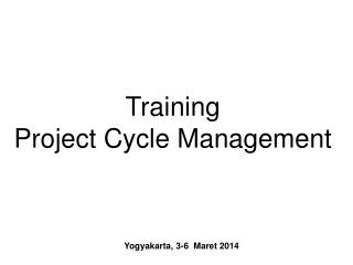 Yogyakarta, 3-6  Maret 2014
