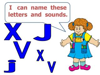 I   can  name  these  letters  and  sounds.